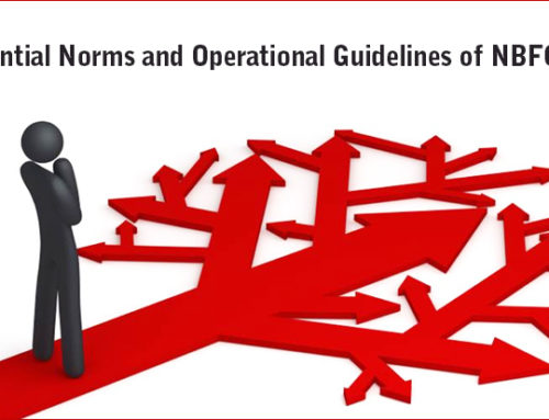 Prudential Norms and Operational Guidelines of NBFC – P2P