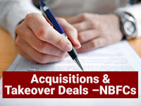 Acquisitions & Takeover Deals –NBFCs