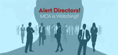 Company Directors! MCA is Watching