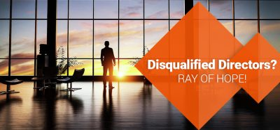 Ray of Hope for Disqualified Directors
