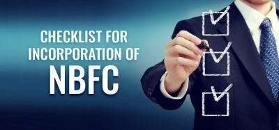 Checklist for Incorporation of NBFC