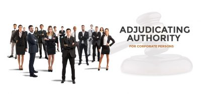 Adjudicating Authority for Corporate Persons