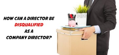 Director to Be Disqualified as a Company Director