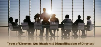 Qualifications & Disqualifications of Directors