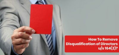 How To Remove Disqualification of Directors