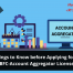 Nbfc aa license, account aggregator, NBFC Account Aggregator License